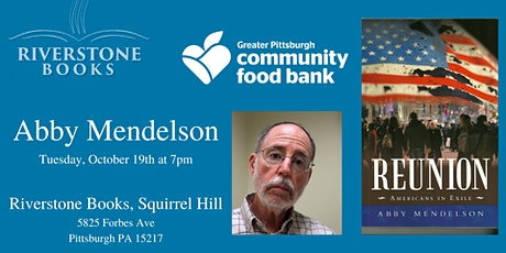 Local Author Abby Mendelson with the Greater Pittsburgh Community Food Bank tickets