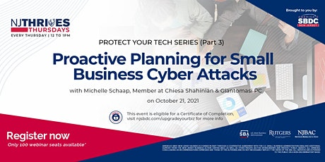 Proactive Planning for Small Business Cyber Attacks tickets