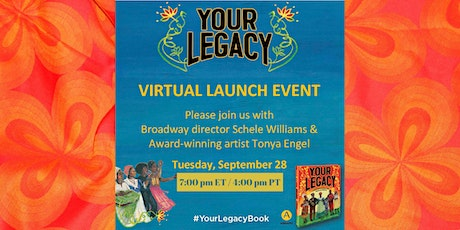 Virtual Launch Event:YOUR LEGACY: A BOLD RECLAIMING OF OUR ENSLAVED HISTORY tickets