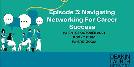 Navigating Networking for Career Success tickets