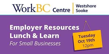 Employer Resources Lunch & Learn tickets