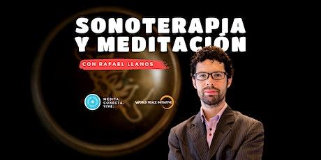 Sonoterapia y Meditación - Septiembre entradas