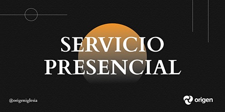 Servicio Presencial 26/09 [5:30pm] entradas