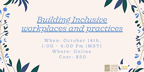 Building Inclusive Workplaces and Practices Public Workshop tickets