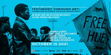 Testimony Through Art: Celebrating 55 Years of the Black Panther Party tickets