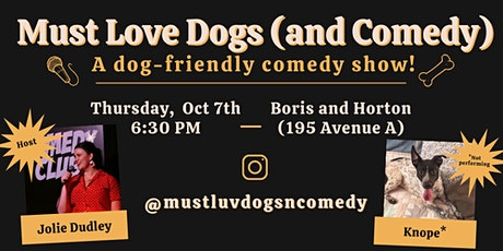Must Love Dogs (and Comedy) tickets