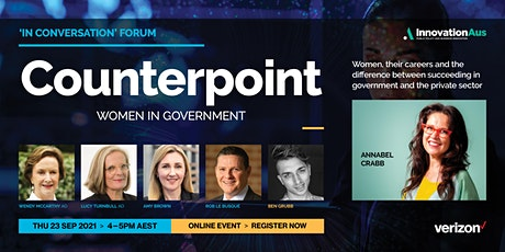 In Conversation with Annabel Crabb | Counterpoint: Women in Government tickets