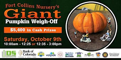Fort Collins Nursery's Giant Pumpkin Weigh-Off tickets