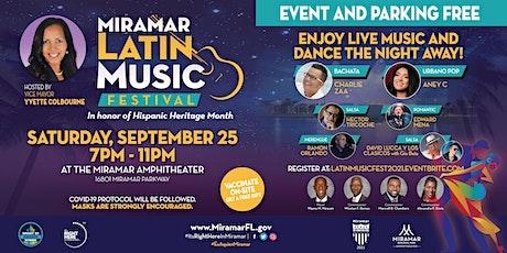 Latin Music Festival 2021 tickets
