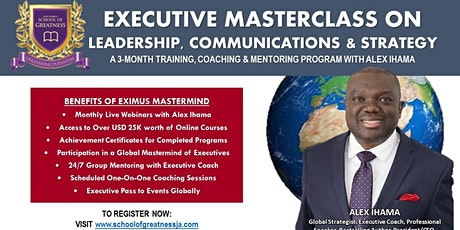 Executive Masterclass on Leadership, Communications & Strategy tickets