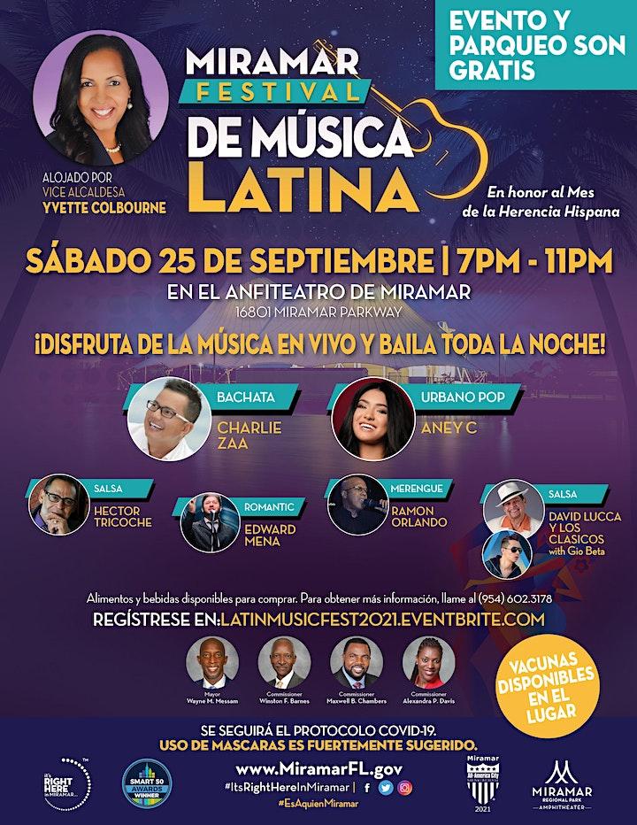 Latin Music Festival 2021 image