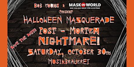 Bob Young's Halloween Masquerade 2021 *POST MORTEM NIGHTMARE* Tickets
