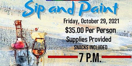 Spa Sip and Paint Night Out tickets