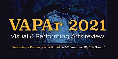 VAPAr 2021- Saturday Matinee Performance tickets