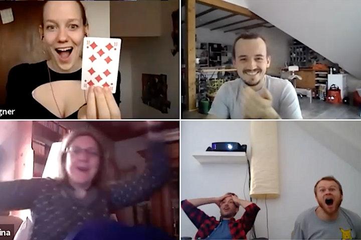 VIRTUELLE WUNDER - die Zaubershow über Zoom. Interaktiv. Online. Live.: Bild