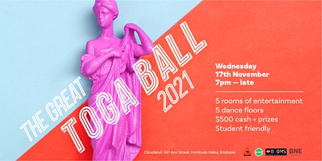 The Great Toga Ball tickets
