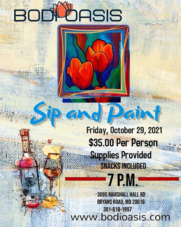 Spa Sip and Paint Night Out image