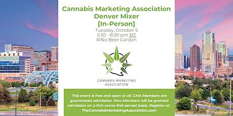 Cannabis Marketing Association Denver Mixer [In-Person] tickets
