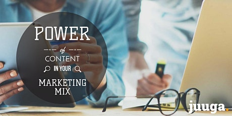 The Power of Content Part 2: Putting Content to work tickets