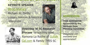 Researching Gullah/Geechee Roots Heritage Days...