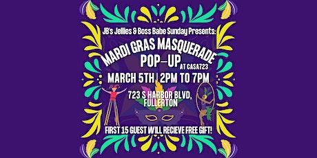 Mardi Gras Masquerade Pop-Up tickets