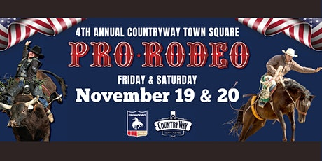 4th Annual CountryWay Town Square Pro Rodeo tickets