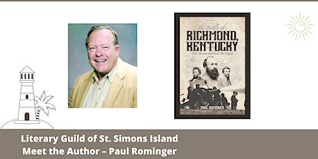 Meet The Author – Paul Rominger tickets