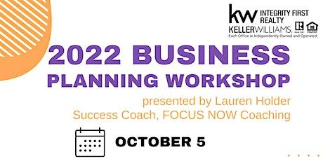 2022 Business Planning Workshop with Lauren Holder tickets