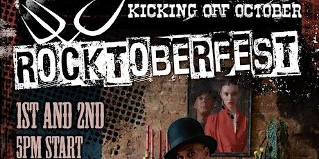 ROCKTOBERFEST 2 evenings of Rock Music DJ Frankfurters Bavarian tickets