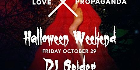 HALLOWEEN Friday Night with DJ SPIDER - FREE RSVP tickets