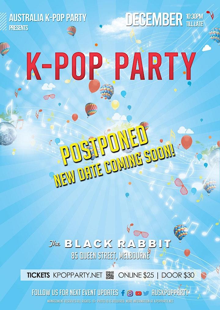 [Postponed] Melbourne Monthly K-Pop Party December 2021 image