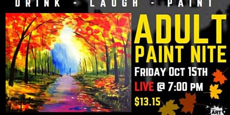 Date Night Paint Night (Adult) - The one with the Fall Walk tickets