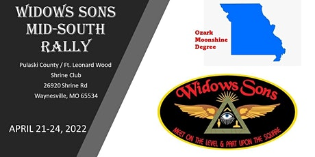 Widows Sons Mid-South 2022 Rally tickets