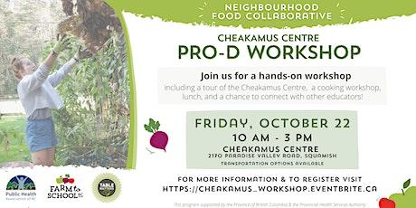 Neighbourhood Food Collaborative: Cheakamus Centre Pro-D Workshop tickets
