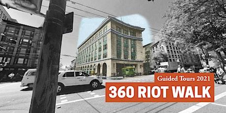 360 Riot Walk: Guided Tour- September 25 tickets
