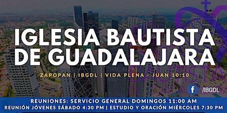 Servicio Dominical 26-09-2021 entradas
