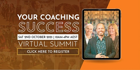 Your Coaching Success Summit - 1 Day Virtual Training tickets