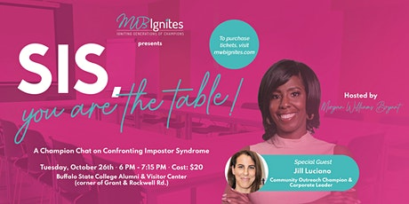 Champion Chat: Sis, You ARE the Table! tickets