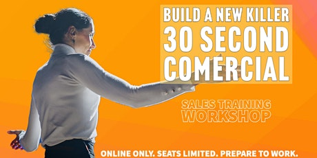 Workshop: How to create a better sales intro (Elevator Pitch/Commercial) tickets