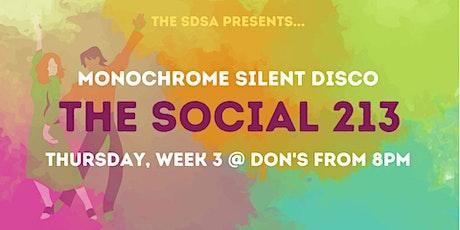 THE SOCIAL 213 : SILENT DISCO tickets