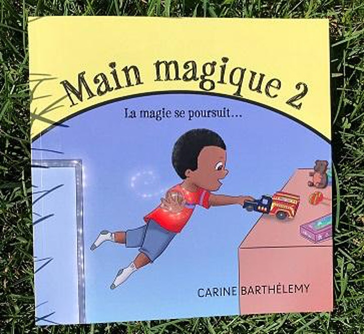 Image de Lancement du livre '' Main magique 2 ''