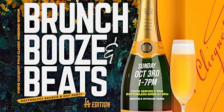 Brunch Booze & Beats: Brunch - Day Party L.A. Vueve Clicquot Polo Classic tickets