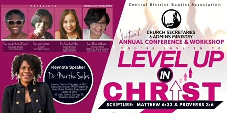CDBA Church Secretaries & Admins Ministry Annual Conference & Workshop tickets