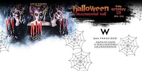 W Hotel Halloween Party San Francisco tickets