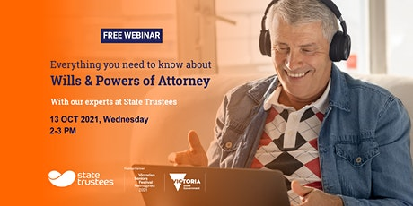 Free Webinar: Everything you need to know about Wills & Powers of Attorney tickets