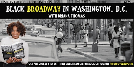 Busboys and Poets Books Celebrates BLACK BROADWAY with Briana Thomas tickets