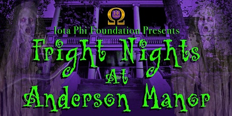 Fright Nights at Anderson Manor tickets