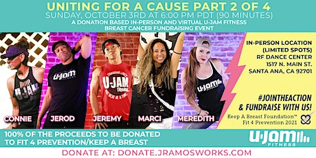 UNITED FOR A CAUSE 2 - U-JAM FITNESS BREAST CANCER FUNDRAISING EVENT tickets