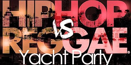 NY Hip Hop vs Reggae® Halloween Sat Midnight YachtParty SkyportMarina Jewel tickets