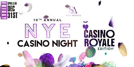 10TH ANNUAL NYE CASINO NIGHT tickets